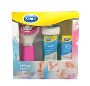 Scholl Velvet Smooth Diamond Set Pink