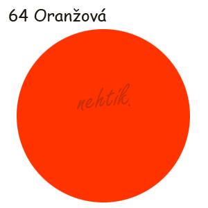 Zdobící akrylová barva na nehty - č. 64 oranžová 30g