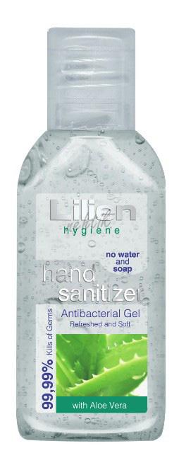 Antibakteriální gel na ruce s aloe vera