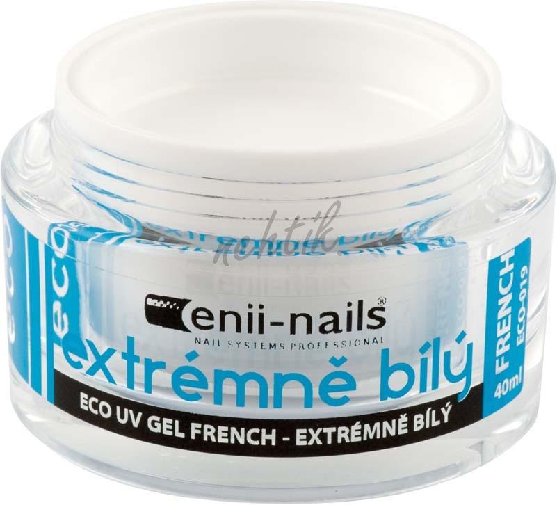 UV gel french extrémně bílý 10 ml Enii