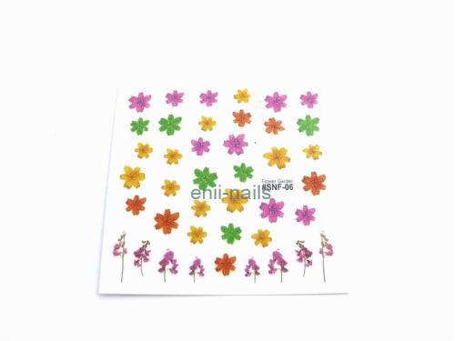 3D STICKER11 - Květinová zahrada