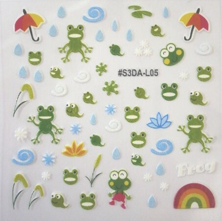 ANIMAL STICKER 5 Frog