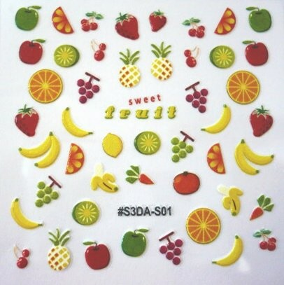 FOOD STICKER 1 Sweet fruit