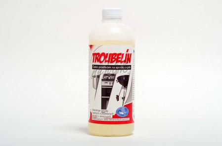 TROUBELÍN - přípravek na čištění trub a sporáků