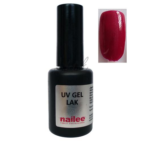 Gel lak na nehty Nailee 15 tm. růžový perleťový