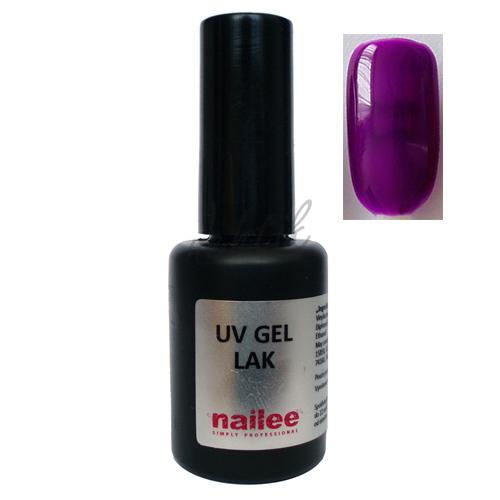 Gel lak na nehty Nailee 22 tm. fialový