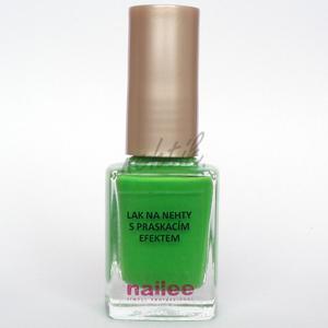 Praskací lak na nehty zelený