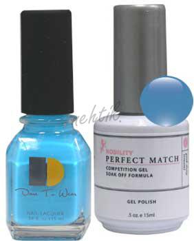 Gel lak Perfect Match (sada) - Old, New, Borrowed, Blue