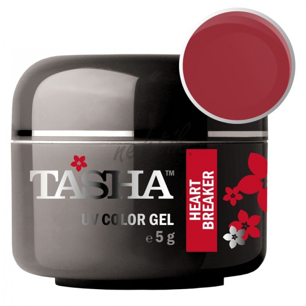 Uv gel barevný Tasha Heart Breaker 5g - Black Line