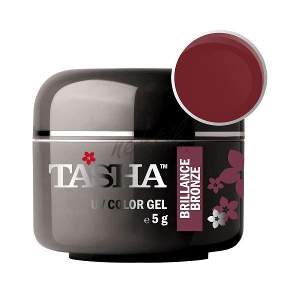 Uv gel barevný Tasha Brillance Bronze 5g - Black Line