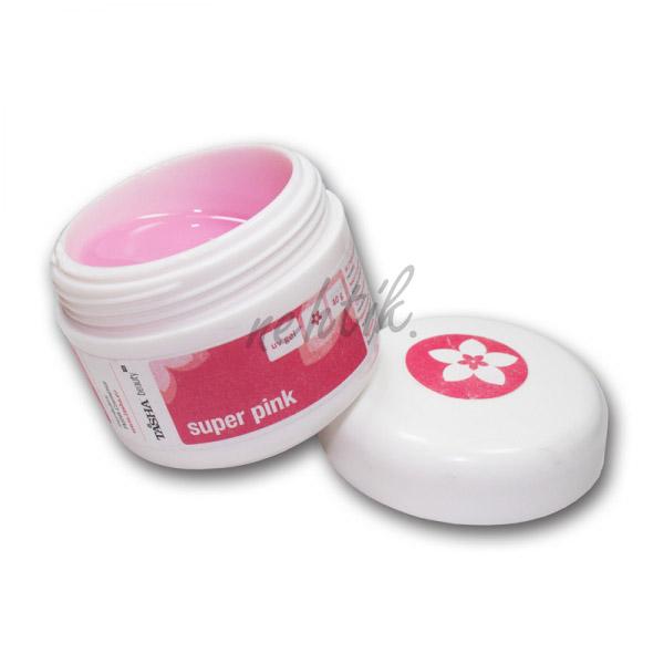 Vrchní UV gel Super pink 40g Tasha