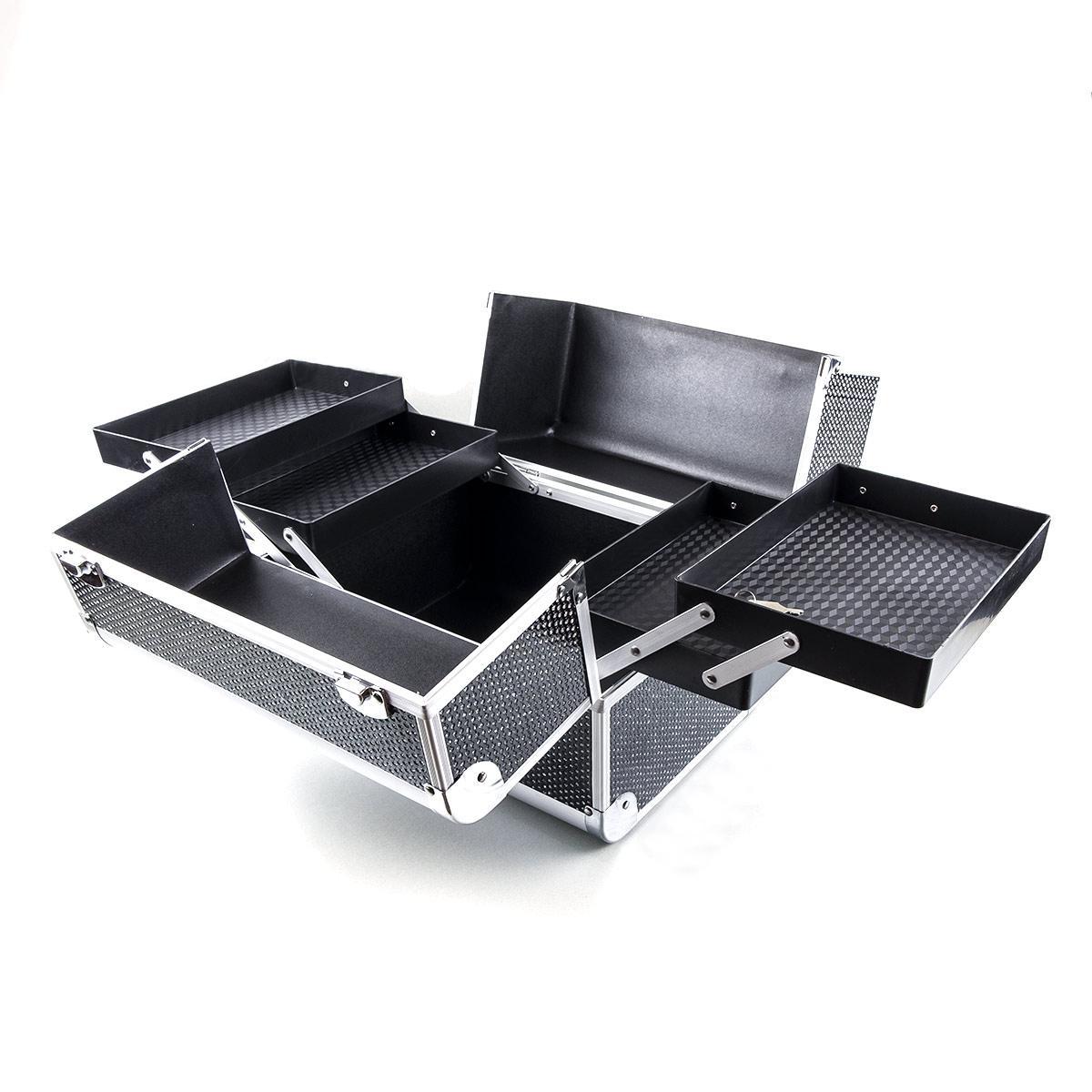 Kosmetický kufřík Neon Černý
