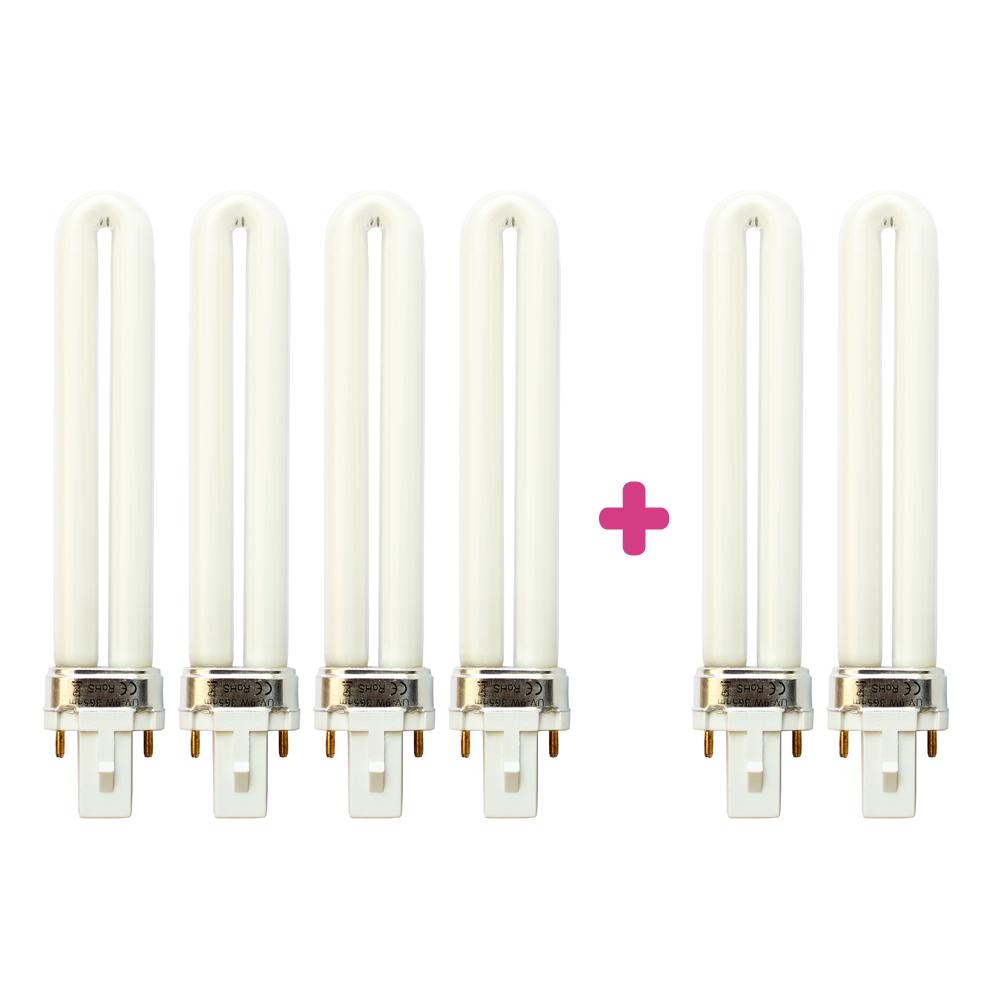 Žárovka do UV lampy 9W bez starteru BK 4+2