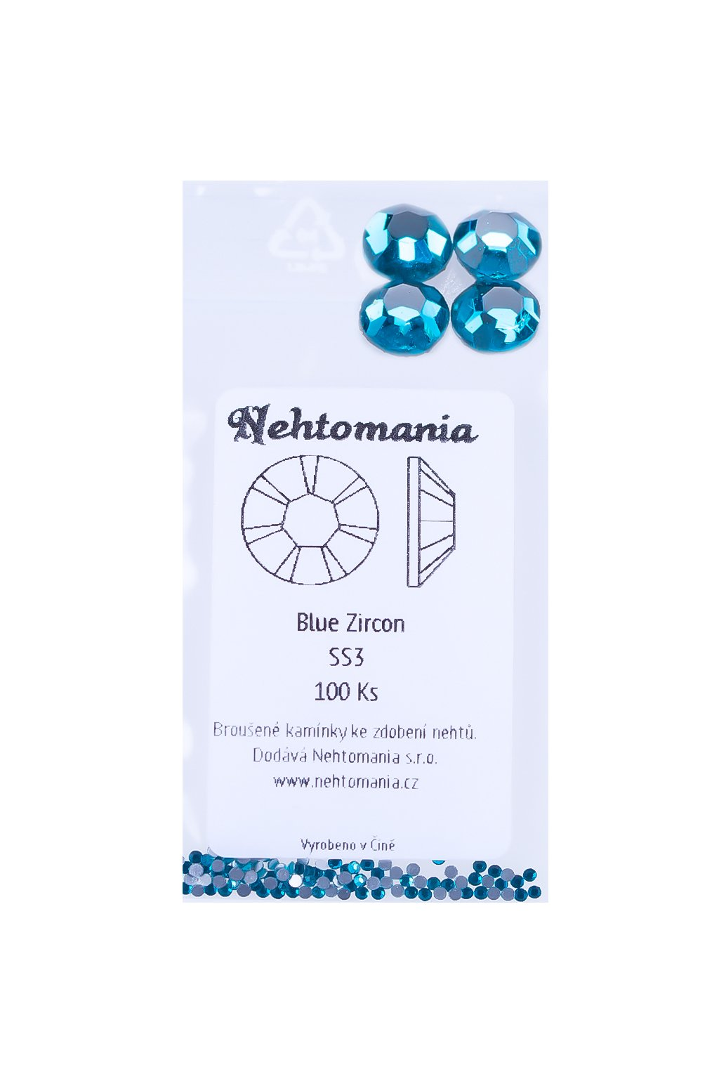 22343 blue zircon ss3