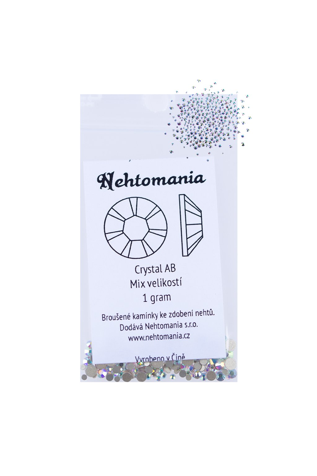 22442 crystal ab mix velikosti