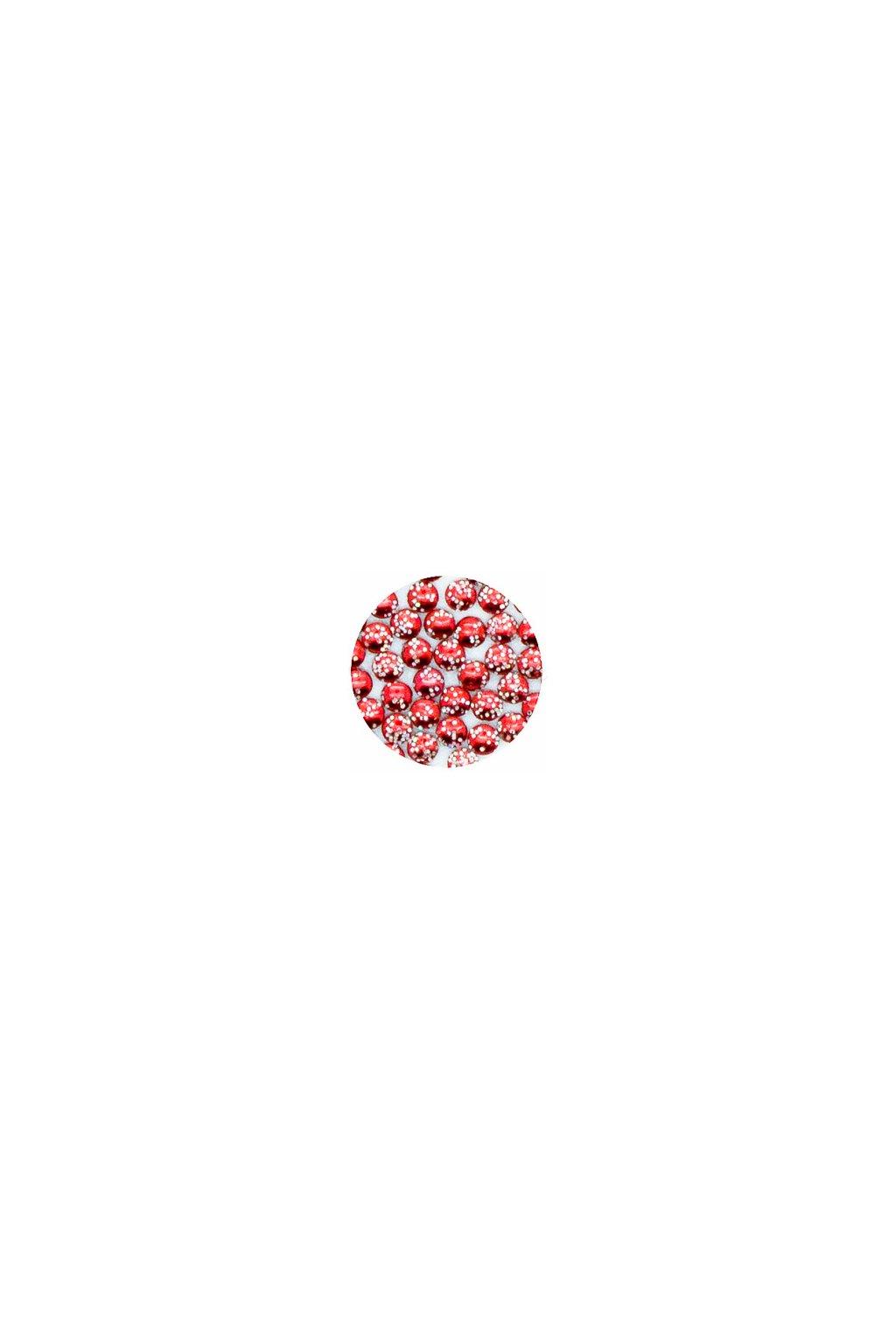 23318 lentilky trpytive cervene