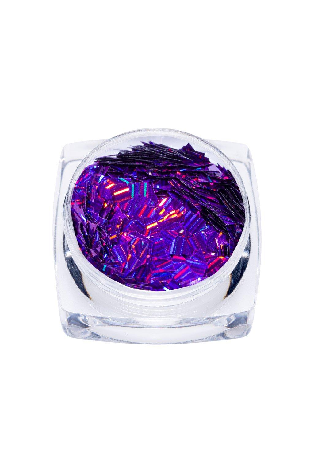 24080 purple holo diamond