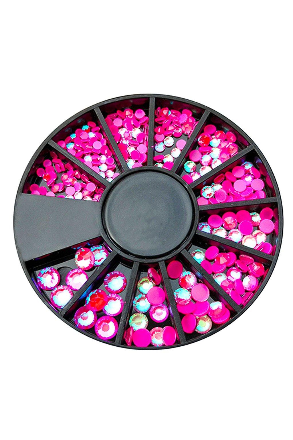 Karusel kamínků Neon Pink