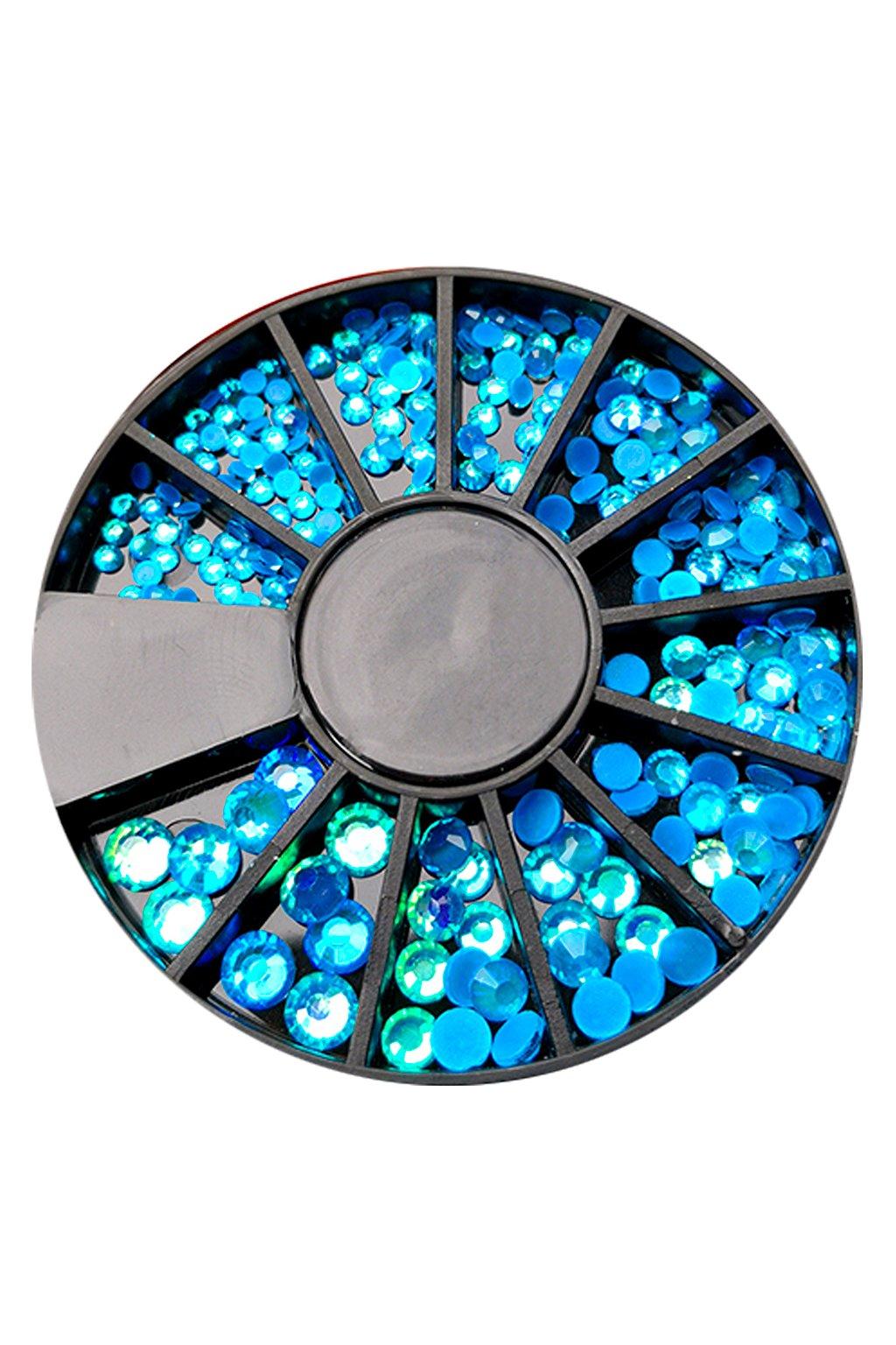 Karusel kamínků Neon Blue