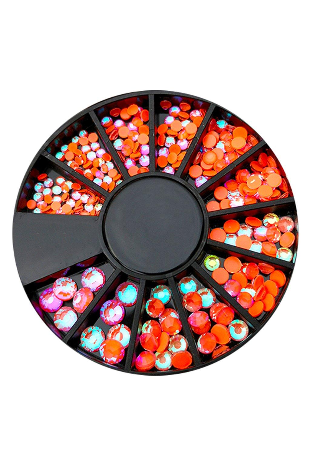 Karusel kamínků Neon Orange