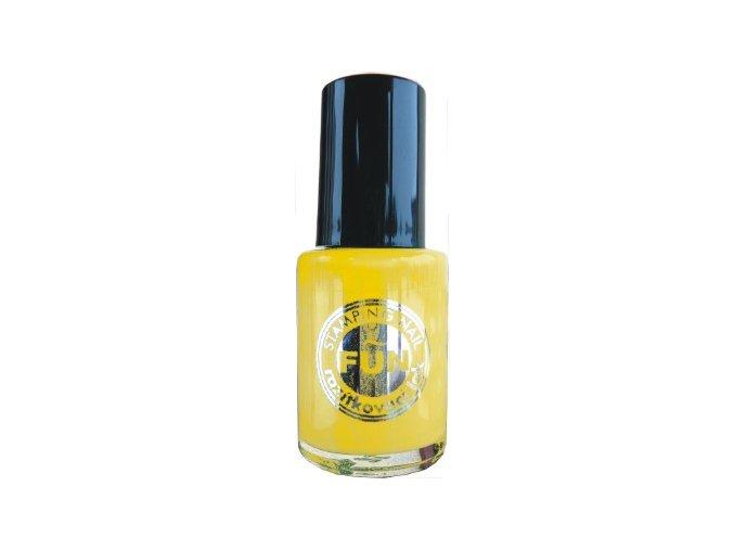 Razítkovací lak žlutý 15ml