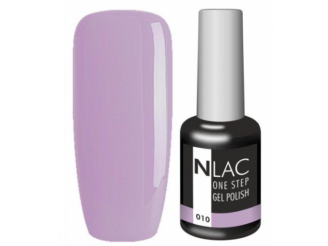 Gel lak NLAC One step 010 - fialová