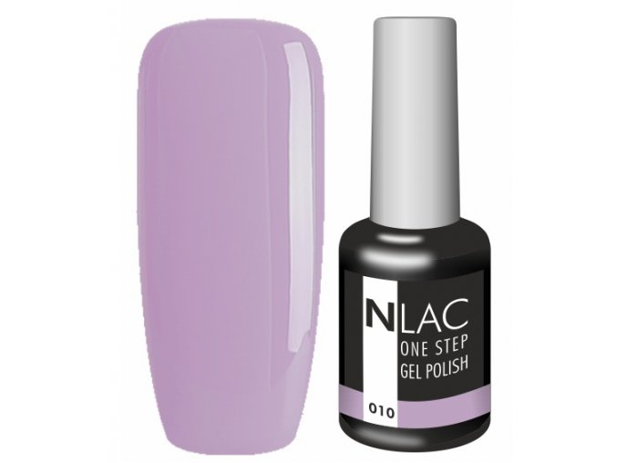 Gel lak NLAC One step 010 - fialová