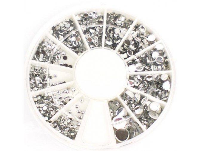 Karusel - stříbrné kamínky