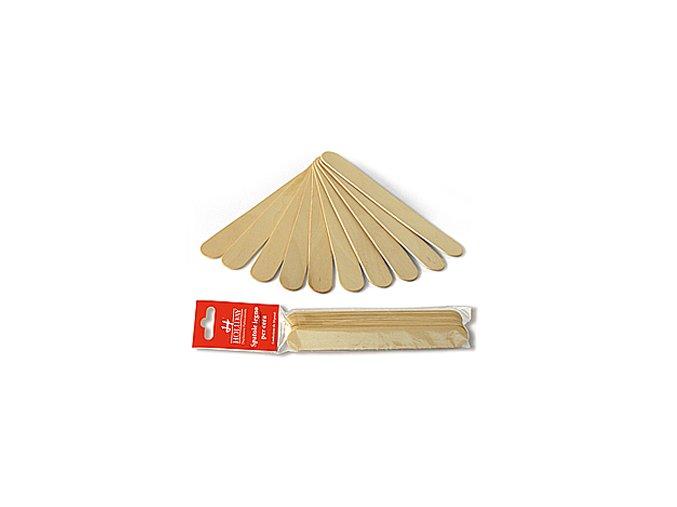 Špachtle dřevěná na vosk Holiday