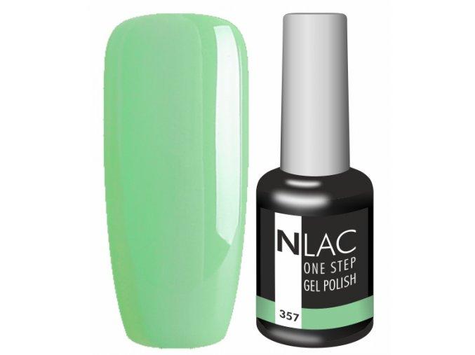 Gel lak na nehty NLAC One step 357- zelená