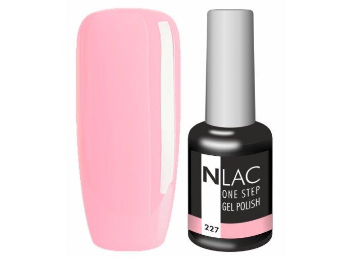 Gel lak na nehty NLAC One step 227- růžová