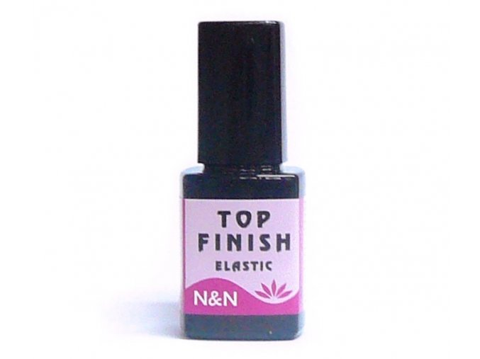 Finish top elastic gel