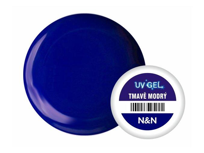 Barevný UV gel N&N 5ml - tmavě modrý
