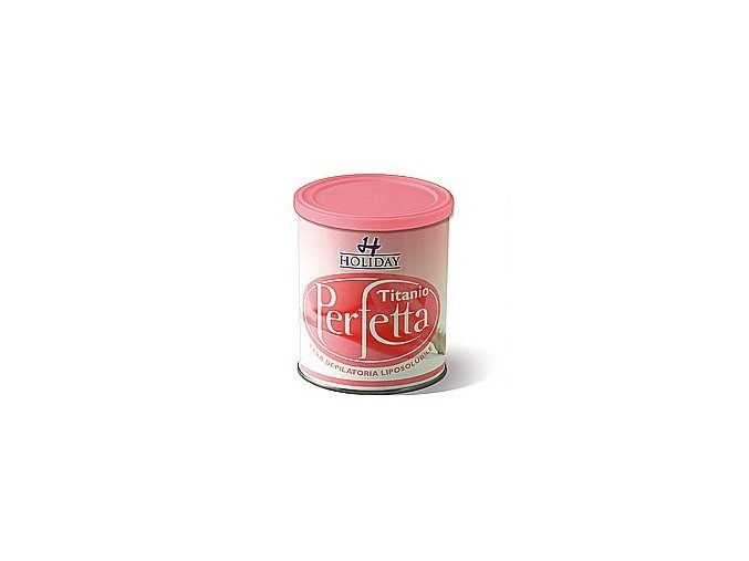 Depilační vosk Perfetta Holiday pink 800ml