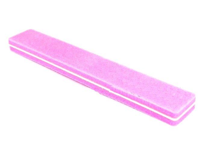 Blok růžovo bílý