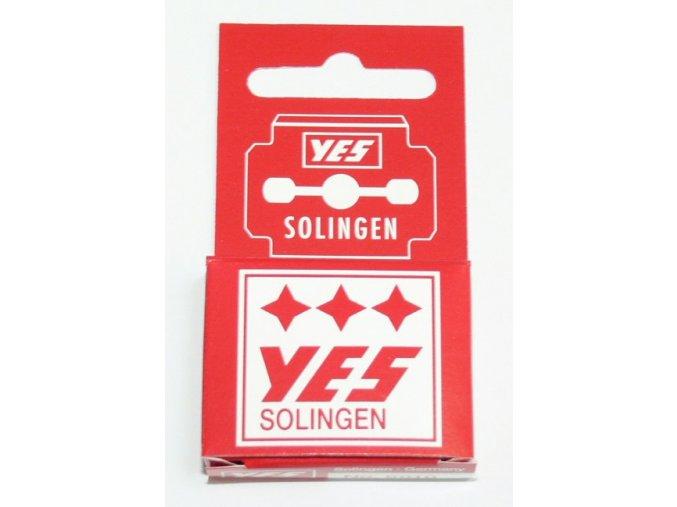 Čepelky YES - Solingen k hoblíku (10 ks)