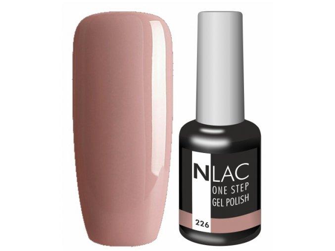 Gel lak na nehty NLAC One step 226 - kakaová