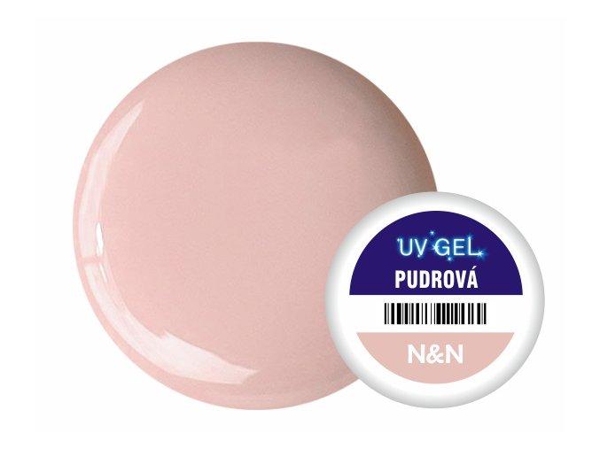 Barevný UV gel N&N 5ml - barva pudrová