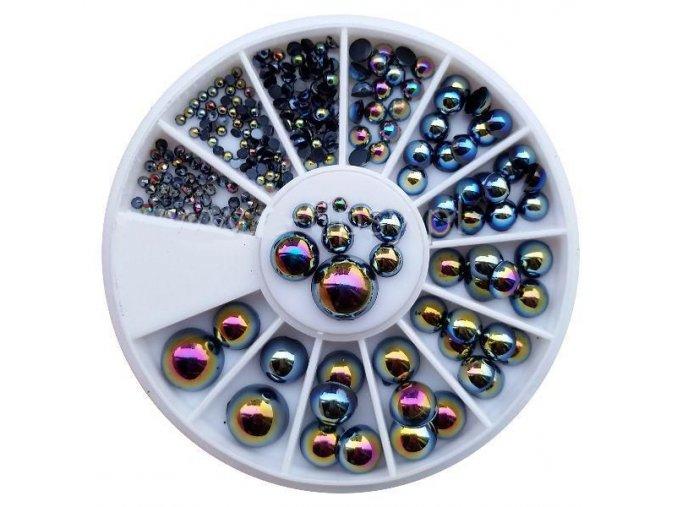 Karusel - tmavé perly
