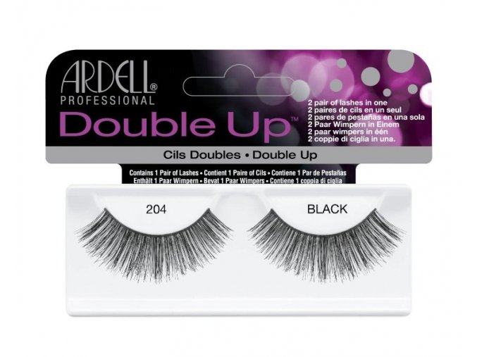 nalepovaci rasy double up lashes ardell 204 black
