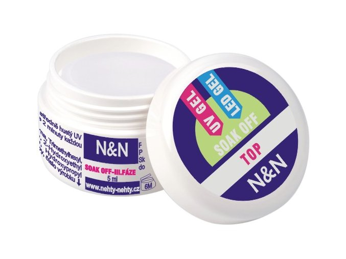Sealing (vrchní) TOP Soak off gel N&N