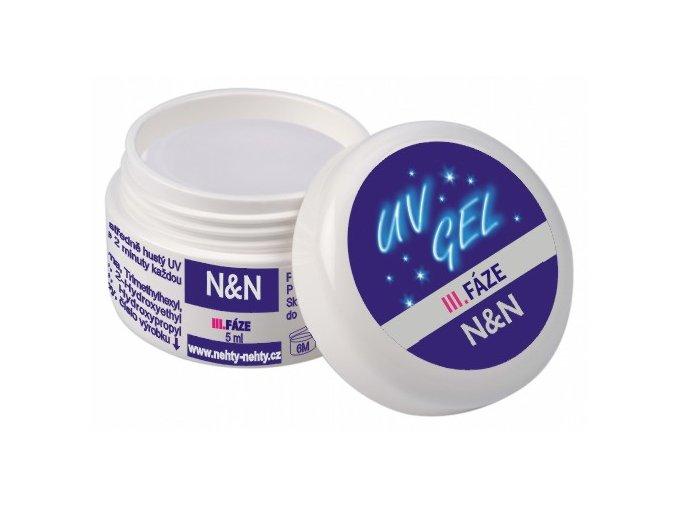 Top gel - vrchní UV gel - III. fáze