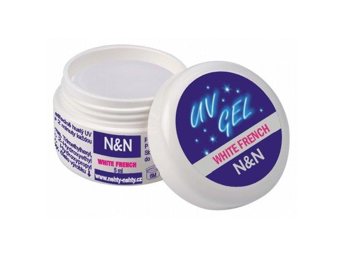French white UV gel