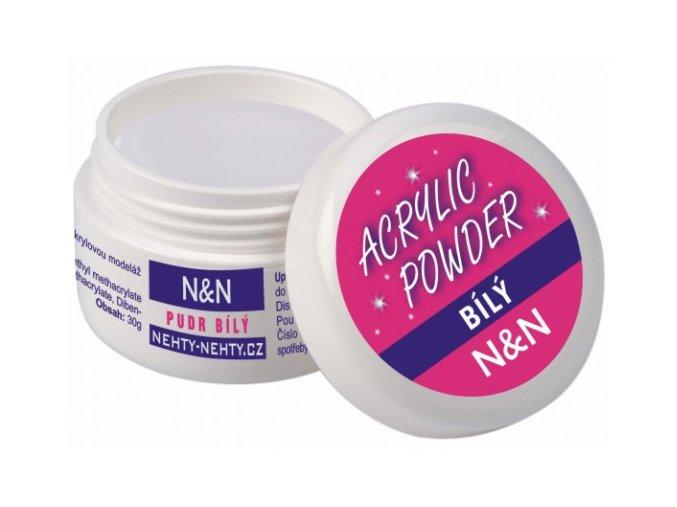 Acrylic powder - akrylový pudr bílý