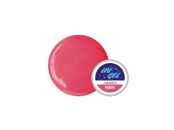 Barevný UV gel N&N 5ml - barva jahodová
