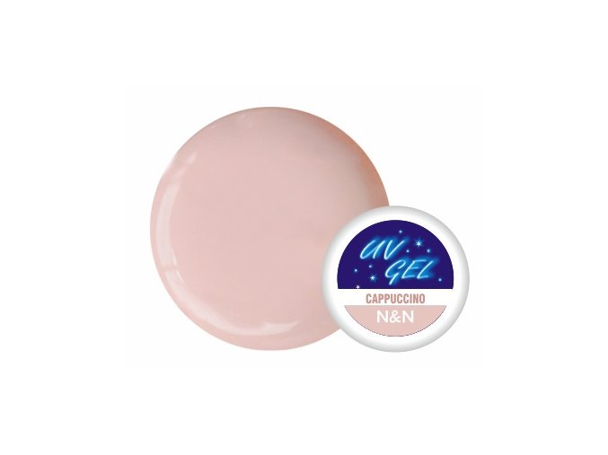 Barevný UV gel N&N 5ml - barva cappuccino