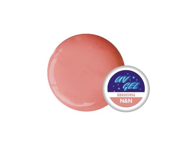 Barevný UV gel N&N 5ml - barva broskvová