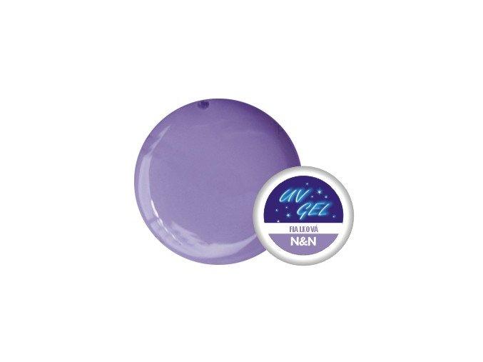 Barevný UV gel N&N 5ml - barva fialková