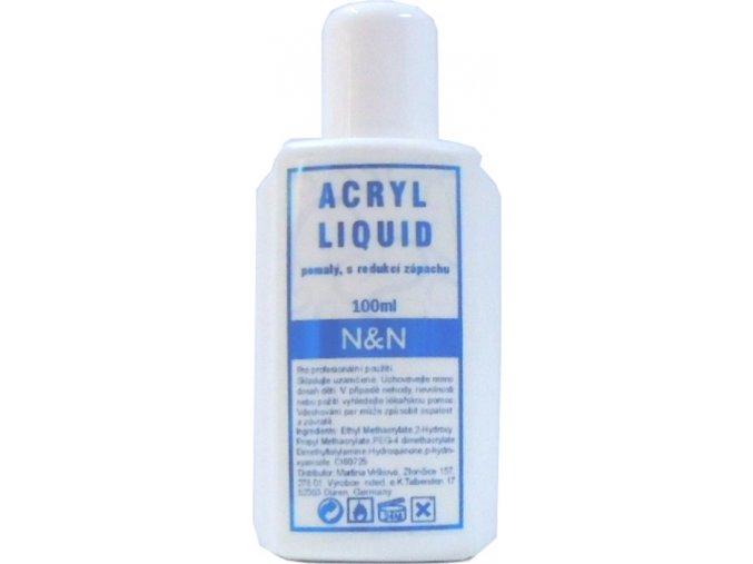 Acrylic liquid - akrylátové tvrdidlo 100 ml - pomalé