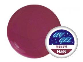 Barevný UV gel N&N 5ml - barva rubínová